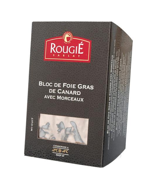 foie gras canard morceaux rougie 500g