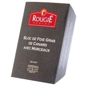 foie gras canard morceau 180g rougie