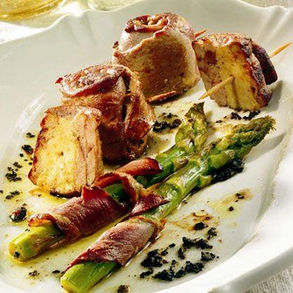 Mini tournedos d'aiguillettes au foie gras recette