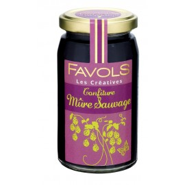 confiture de mûre sauvage Favols pot 270g