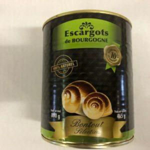 escargots de bourgogne bontout sélection
