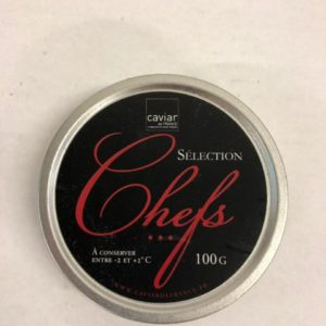 caviar selection chefs 100g