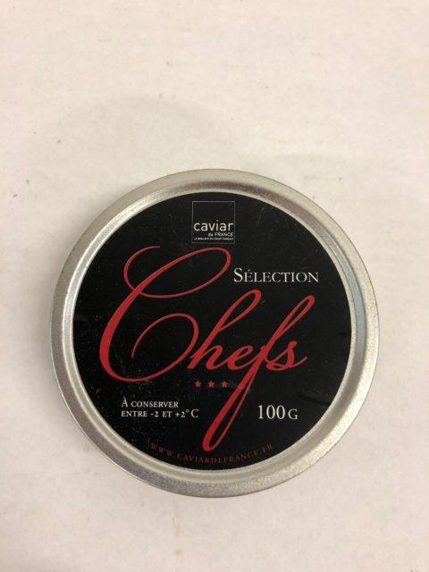 caviar selection chefs 100g
