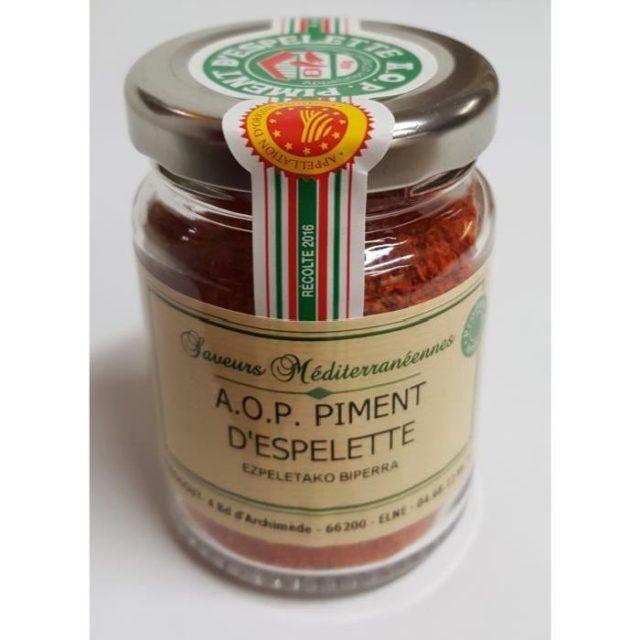 Piment d'Espelette AOP 40gr