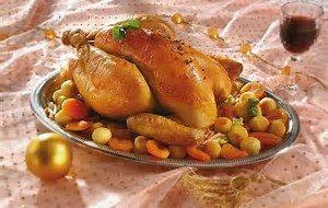 volaille poulet noël