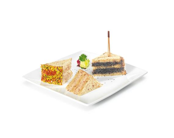 Club sandwich gourmand