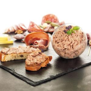 Alliance gourmande de canard au foie gras