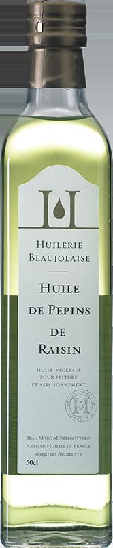 Huile de pépins de raisin Huilerie Beaujolaise 1L