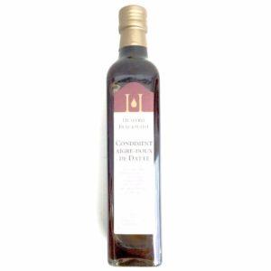 condiment aigre-doux de datte huilerie beaujolaise 50cL